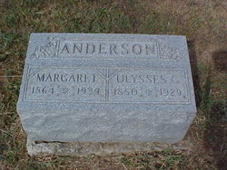 Margaret <I>Thompson</I> Anderson