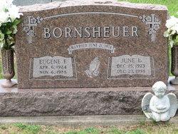 June Louise <I>Reifsteck</I> Bornsheuer