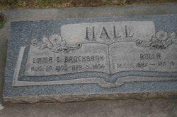 Emma Elizabeth <I>Brockbank</I> Hall