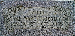 Val Ware Thornley