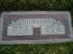 Kristie <I>Bodily</I> Thurgood