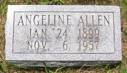 Janey Angeline <I>White</I> Allen