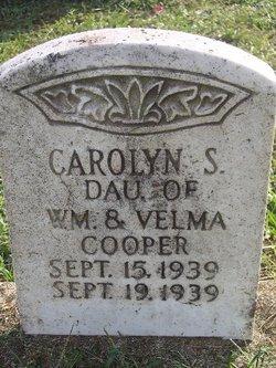 Carolyn Sue Cooper
