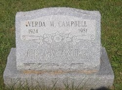 Verda Margarite <I>Campbell</I> Cravenor