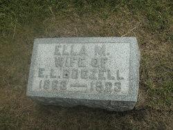 """Margaret Ellen """"Ella"""" <I>White</I> Boozell"""