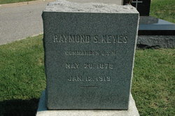 CDR Raymond Stedman Keyes