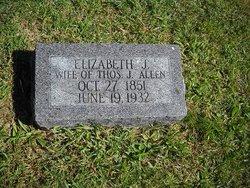 Elizabeth Jane <I>Skidmore</I> Allen