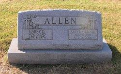 Olive Virginia <I>Ennis</I> Allen