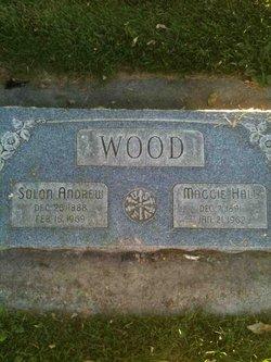 Maggie <I>Hall</I> Wood