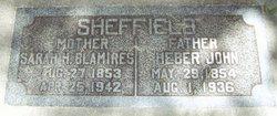 Sarah Harriet <I>Blamires</I> Sheffield