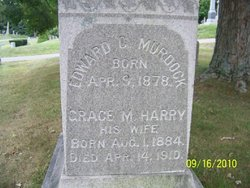 Grace Maria <I>Harry</I> Murdock
