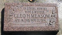 Cleo Ethel <I>Haddock</I> Measom