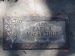 Earl L MacArthur