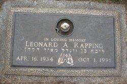 Leonard A Rapping