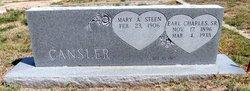 Mary Artis <I>Steen</I> Cansler