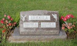 Violet E <I>Nelson</I> Erkkila