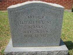 """Elizabeth """"Lizzie"""" <I>Love</I> Blanks"""