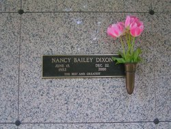 Nancy Gail <I>Bailey</I> Dixon
