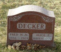Fred H Decker, Jr