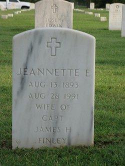 Jeannette E Finley
