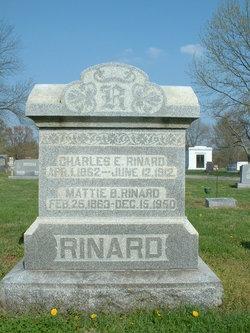 """Martha C. """"Mattie"""" <I>Borah</I> Rinard"""