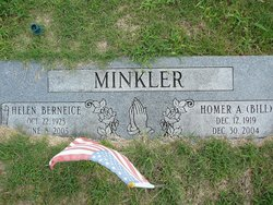 """Homer A. """"Bill"""" Minkler"""