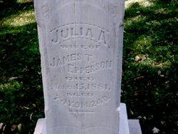 Julia Ann <I>Heaton (Baird-Thompson)</I> Epperson