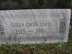 Susan <I>Gwin</I> James