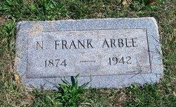 """Newton Franklin """"Frank"""" Arble"""