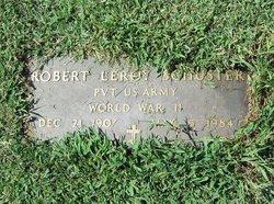 """Pvt Robert Leroy """"Roy"""" Schuster"""
