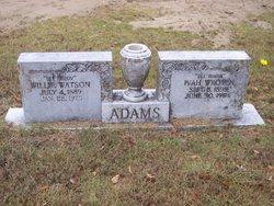 Willie Watson Adams