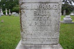 Mrs Lilly Hooker Ball
