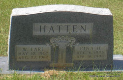Pina <I>Head</I> Hatten