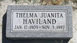 Thelma Juanita <I>Lovell</I> Haviland
