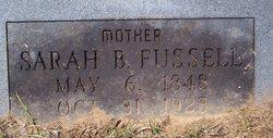 Sarah A. <I>Breland</I> Fussell