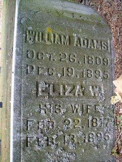 Eliza W. <I>Grear</I> Adams