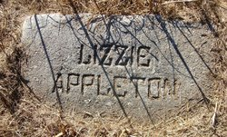 "Elizabeth Tennessee ""Lizzie"" <I>Gregory</I> Appleton"