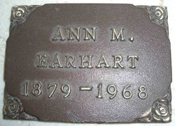 Ann Mary <I>McPherson</I> Earhart