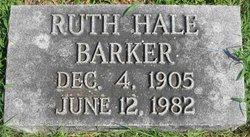 Ruth <I>Hale</I> Barker