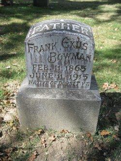 Frank Exus Bowman