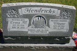 Erma <I>McNeil</I> Hendricks