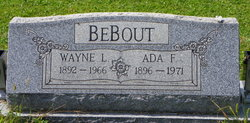 Ada Francis <I>Fetters</I> Bebout