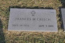"Frances Margaret ""Fran"" <I>Hathcox</I> Creech"