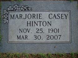 Marjorie <I>Casey</I> Hinton
