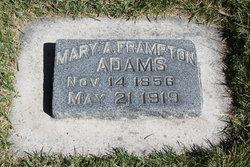 Mary Alice <I>Frampton</I> Adams