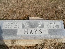Agnes Florence <I>Hadden</I> Hays