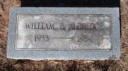 William E Aldridge