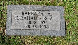 Barbara Ann <I>Graham</I> Roat