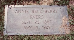 Annie Bell <I>Berry</I> Evers