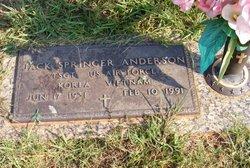 Jack Springer Anderson